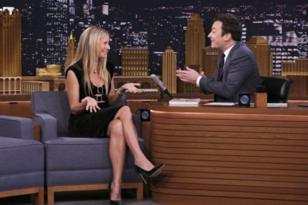 Gwyneth Paltrow incomodó a Jimmy Fallon al hablar de sus partes íntimas