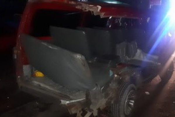 Conductor borracho ocasiona grave accidente de tránsito en carretera de Oro